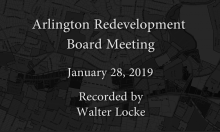 Redevelopment Board Meeting – January 28, 2019