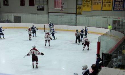 Arlington High School Boys Hockey vs Wilmington – January 26th, 2019
