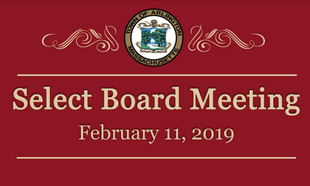 Select Board Meeting – February 11, 2019