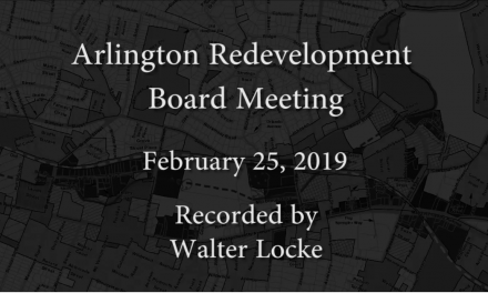 Redevelopment Board Meeting – February 25, 2019