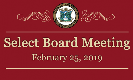 Select Board Meeting – February 25, 2019
