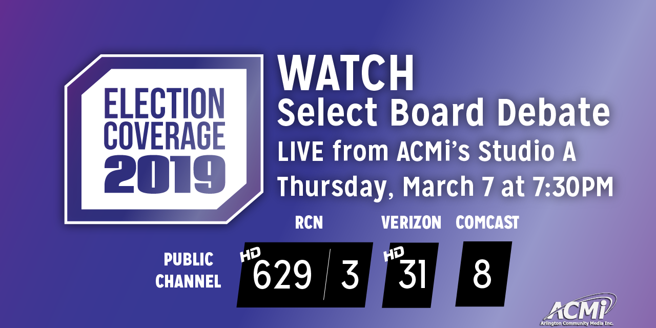 2019 Select Board Debate LIVE