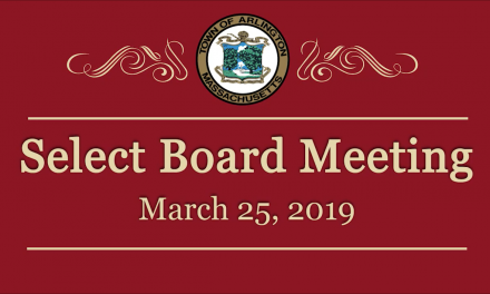 Select Board Meeting – March 25, 2019