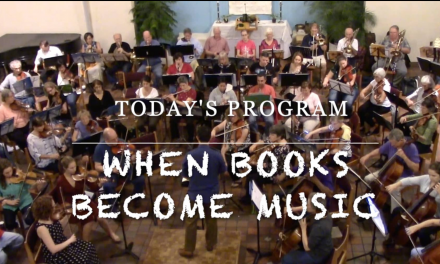 Music Gazing – Family Concert: When books become music