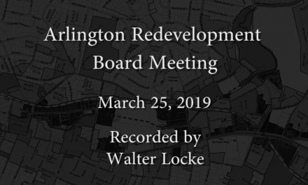 Redevelopment Board Meeting – March 25, 2019