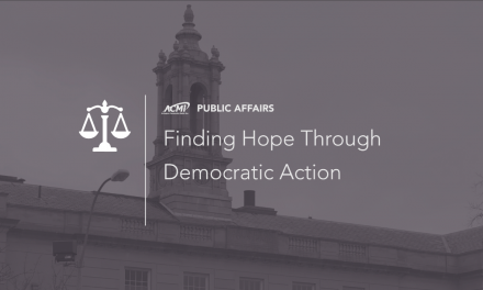 Finding Hope Through Democratic Action