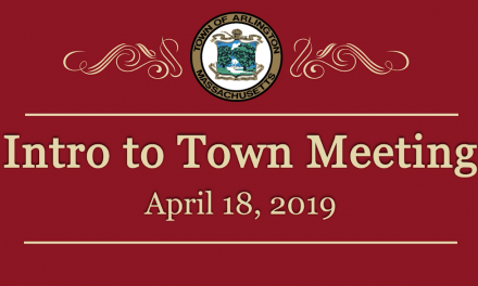 Intro to Town Meeting – April 18, 2019