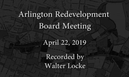 Redevelopment Board Meeting – April 22, 2019