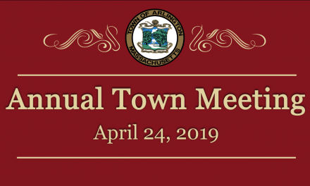 Annual Town Meeting – April 24, 2019