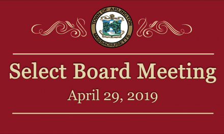 Select Board Meeting – April 29, 2019