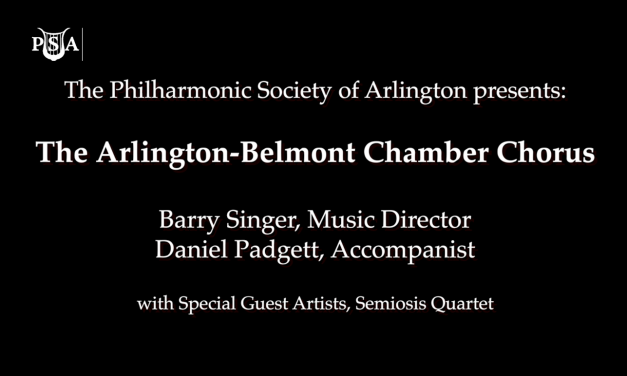 Arlington-Belmont Chamber Chorus – Music for a Spring Evening 2018