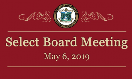 Select Board Meeting – May 6, 2019