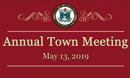 Annual Town Meeting – May 13, 2019