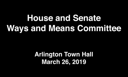 House & Senate Ways Means Committee – March 26, 2019