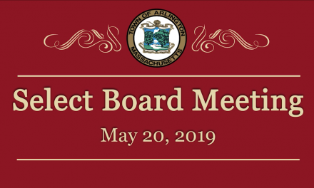 Select Board Meeting – May 20, 2019