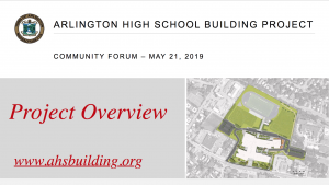 AHS Building Forum – May 21, 2019