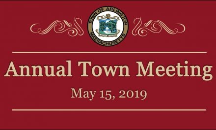 Annual Town Meeting – May 15, 2019