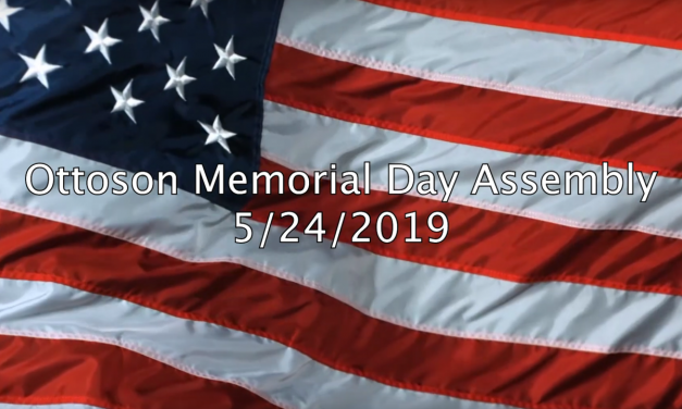 Ottoson Memorial Day Assembly 2019