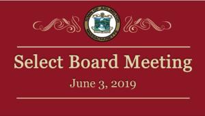 Select Board Meeting – June 3, 2019