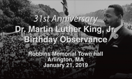 Martin Luther King Birthday Observance 2019