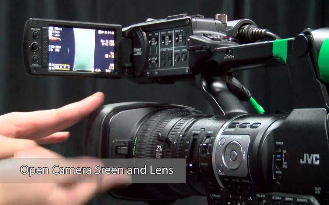 JVC Video Camera Tutorial: Part One