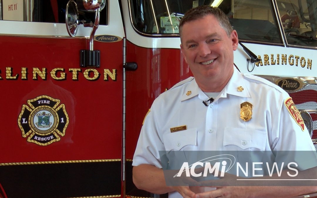 Arlington's New Fire Chief