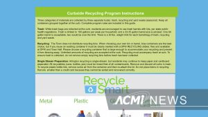 New Recycling Rules-What's In What's Out