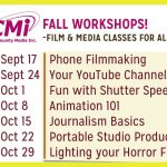 Fall Workshops!