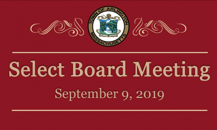 Select Board Meeting – September 9, 2019