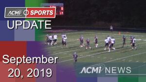ACMi Sports Update: September 20, 2019