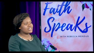 What Is The Gospel | Faith Speaks Rebecca Merzius