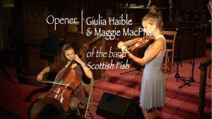 St. John's Coffeehouse Concert Series – September 14, 2019