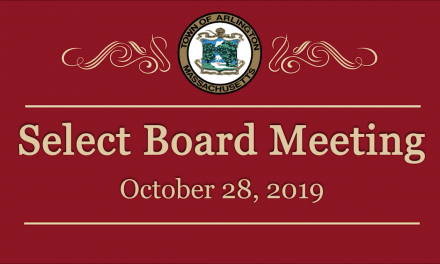Select Board Meeting – October 28, 2019