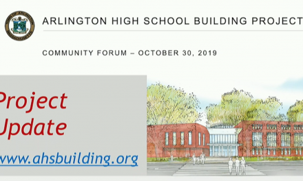 AHS Building Project Community Forum – October 30, 2019