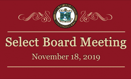 Select Board Meeting – November 18, 2019