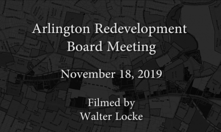 Redevelopment Board Meeting – November 18, 2019