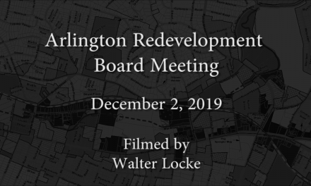 Redevelopment Board Meeting – December 2, 2019