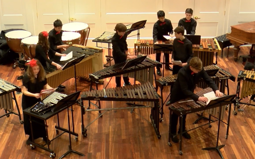 Holiday Music on Marimba