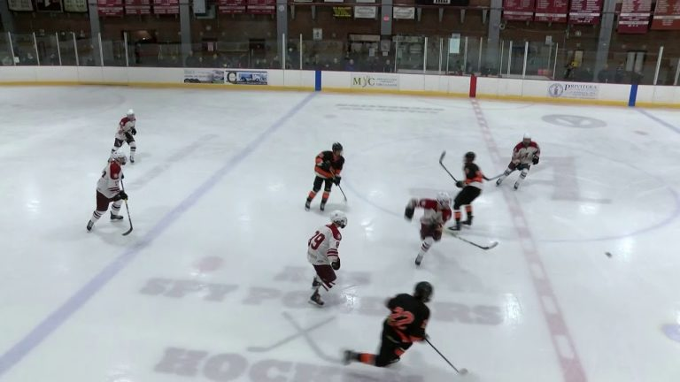 Arlington High School Boys Hockey vs Woburn – January 4, 2019