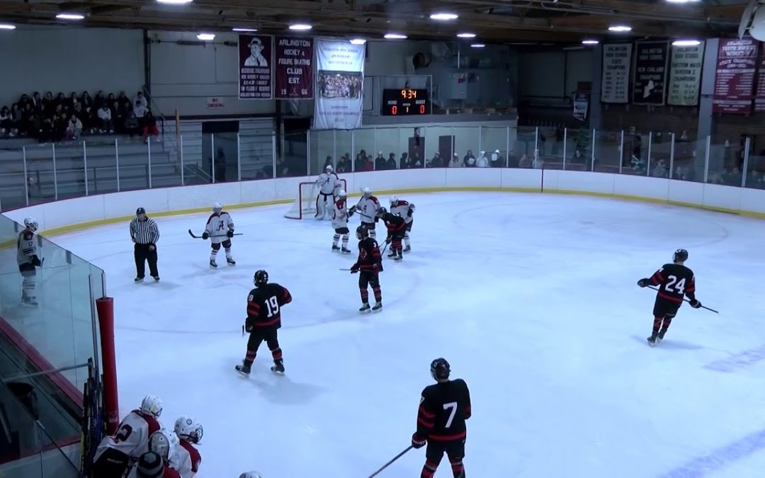 Arlington High School Boys Hockey vs Pope Francis – January 20, 2020