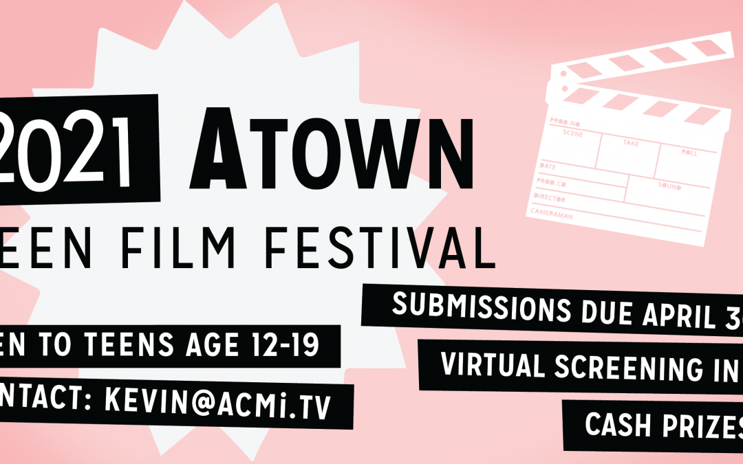 ATown Teen Film Festival 2021 promo