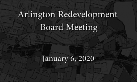 Redevelopment Board Meeting – January 6, 2020