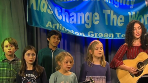 Our Climate Strike Song – Performed by Ella Faye with students from the Thompson Green Team