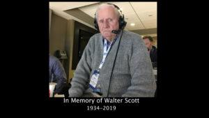 Remembering Walter Scott
