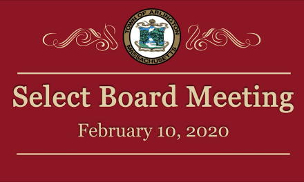 Select Board Meeting – February 10, 2020