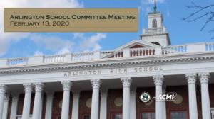 School Committee Meeting – February 13, 2020