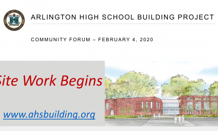 AHS Building Committee Community Forum – February 4, 2020