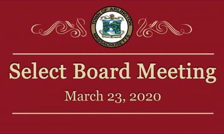 Select Board Meeting – March 23, 2020
