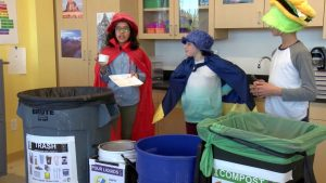 Gibbs Green Team Cafeteria Waste PSA