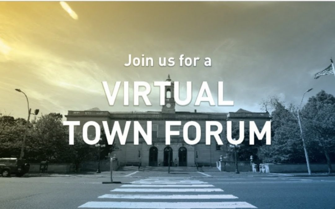 April 29 Virtual Town Forum: Annual Town Election Planning